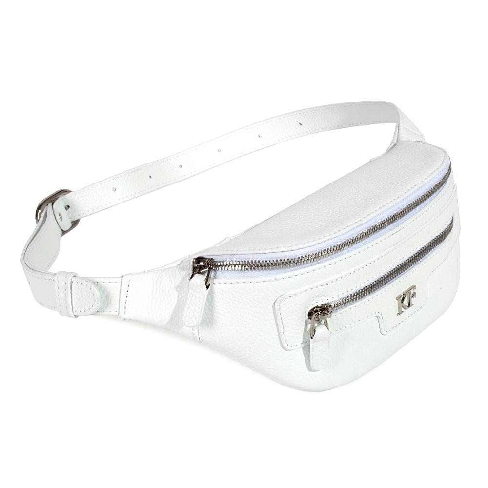 Жіноча шкіряна сумка на пояс Bananka KF-3480-