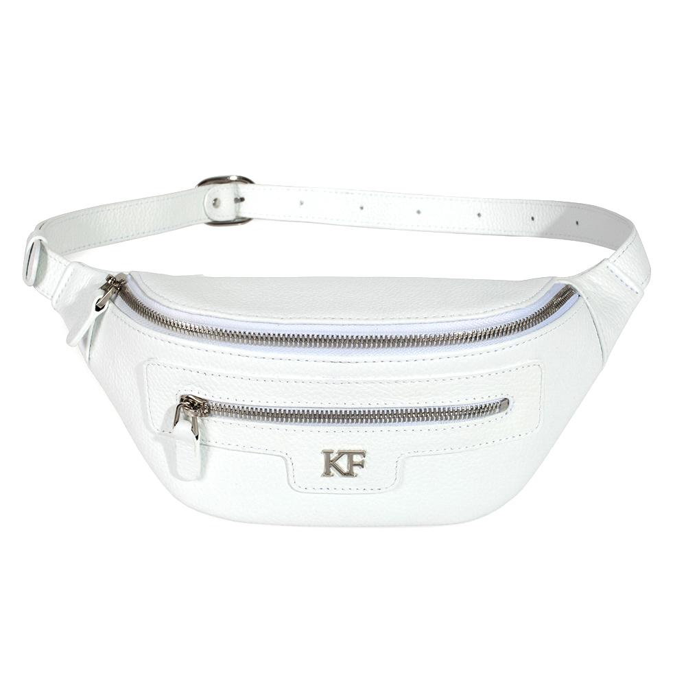 Жіноча шкіряна сумка на пояс Bananka KF-3480-1