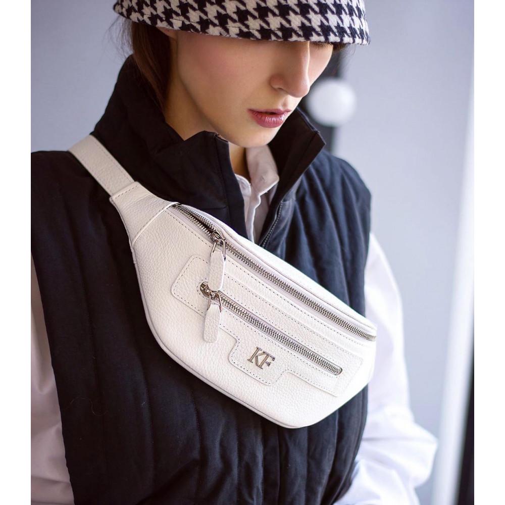 Жіноча шкіряна сумка на пояс Bananka KF-3480-5