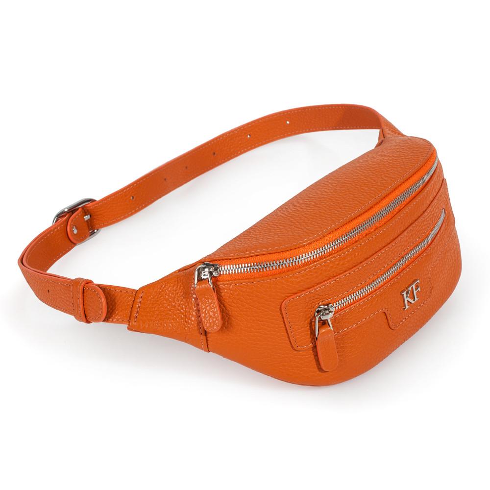 Жіноча шкіряна сумка на пояс Bananka KF-3482