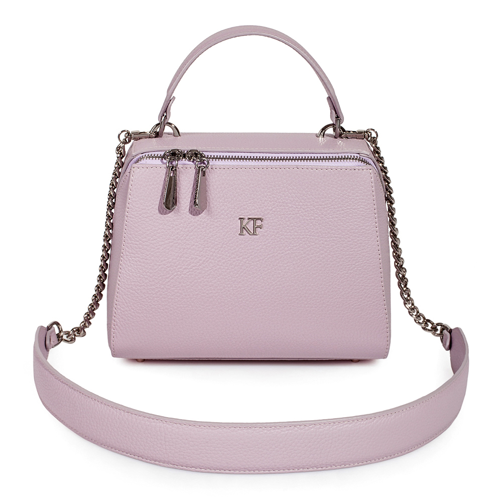 Жіноча шкіряна сумка  Elegance KF-3494