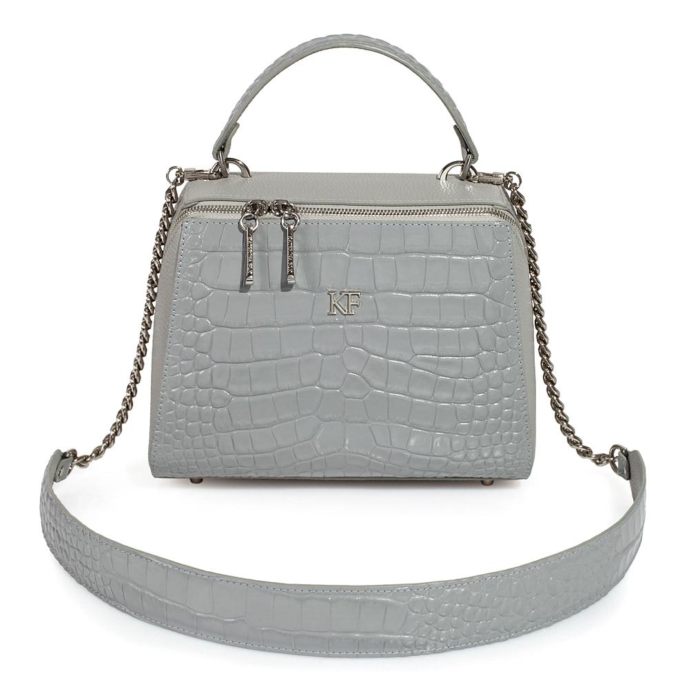 Жіноча шкіряна сумка Elegance KF-3512