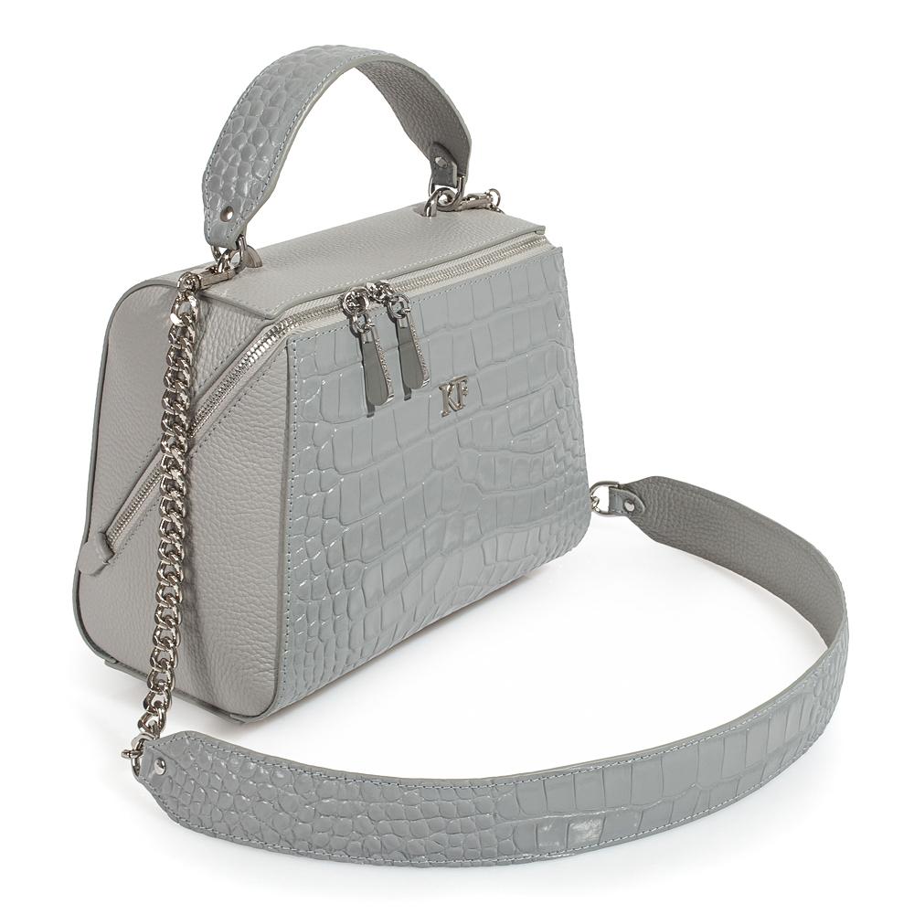 Women's leather bag Elegance KF-3512-1