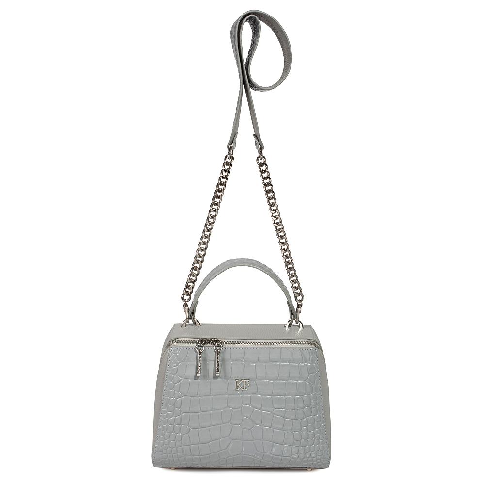 Women's leather bag Elegance KF-3512-2