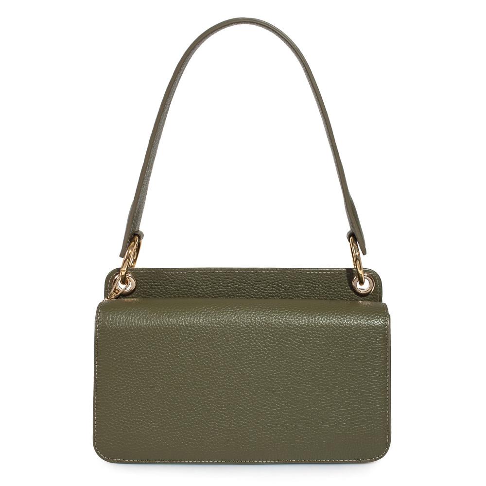 Жіноча шкіряна сумка-багет Baguette KF-3521-2