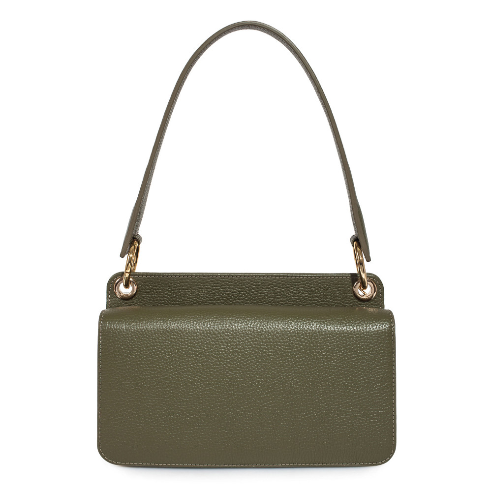 Жіноча шкіряна сумка-багет Baguette KF-3521-3