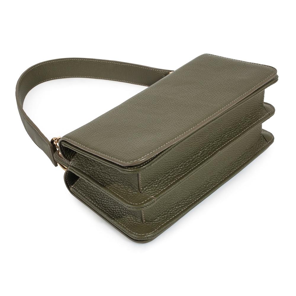 Жіноча шкіряна сумка-багет Baguette KF-3521-6