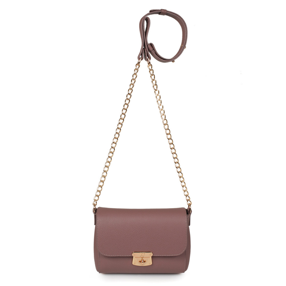 Women's leather bag on a chain Prima S KF-353-2