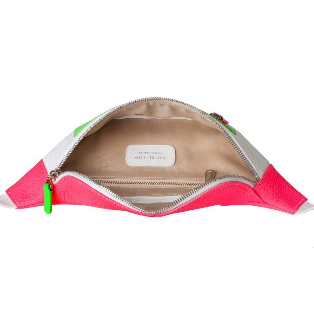 Жіноча шкіряна сумка на пояс Bananka KF-3550-4
