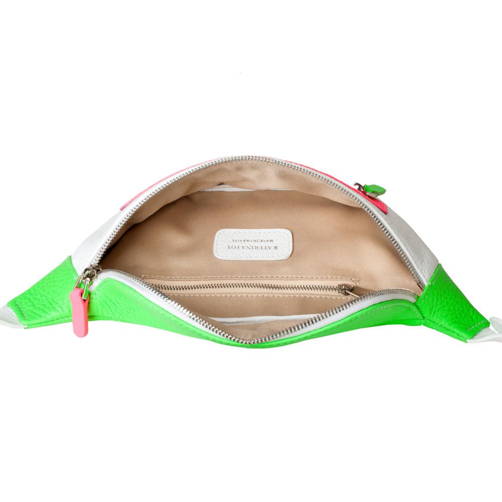 Жіноча шкіряна сумка на пояс Bananka KF-3551-3