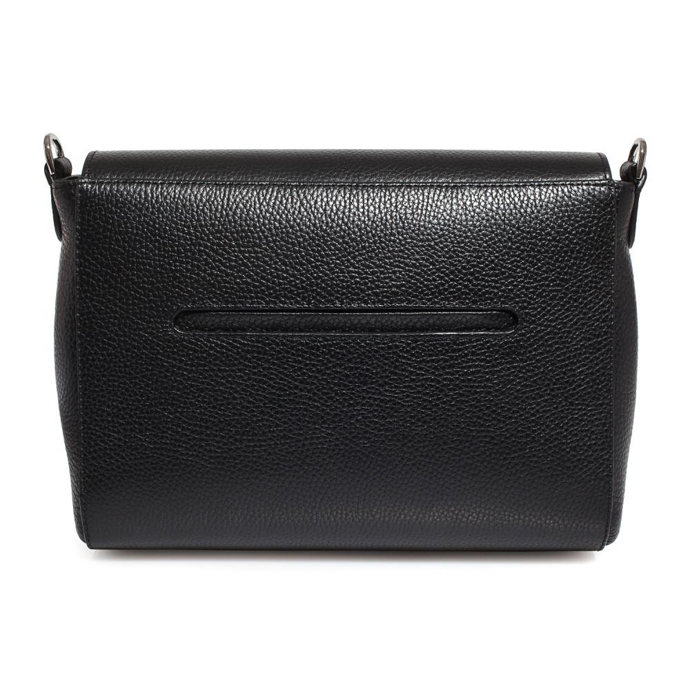 Жіноча шкіряна сумка кросс-боді на широкому ремені Prima M KF-3564-3