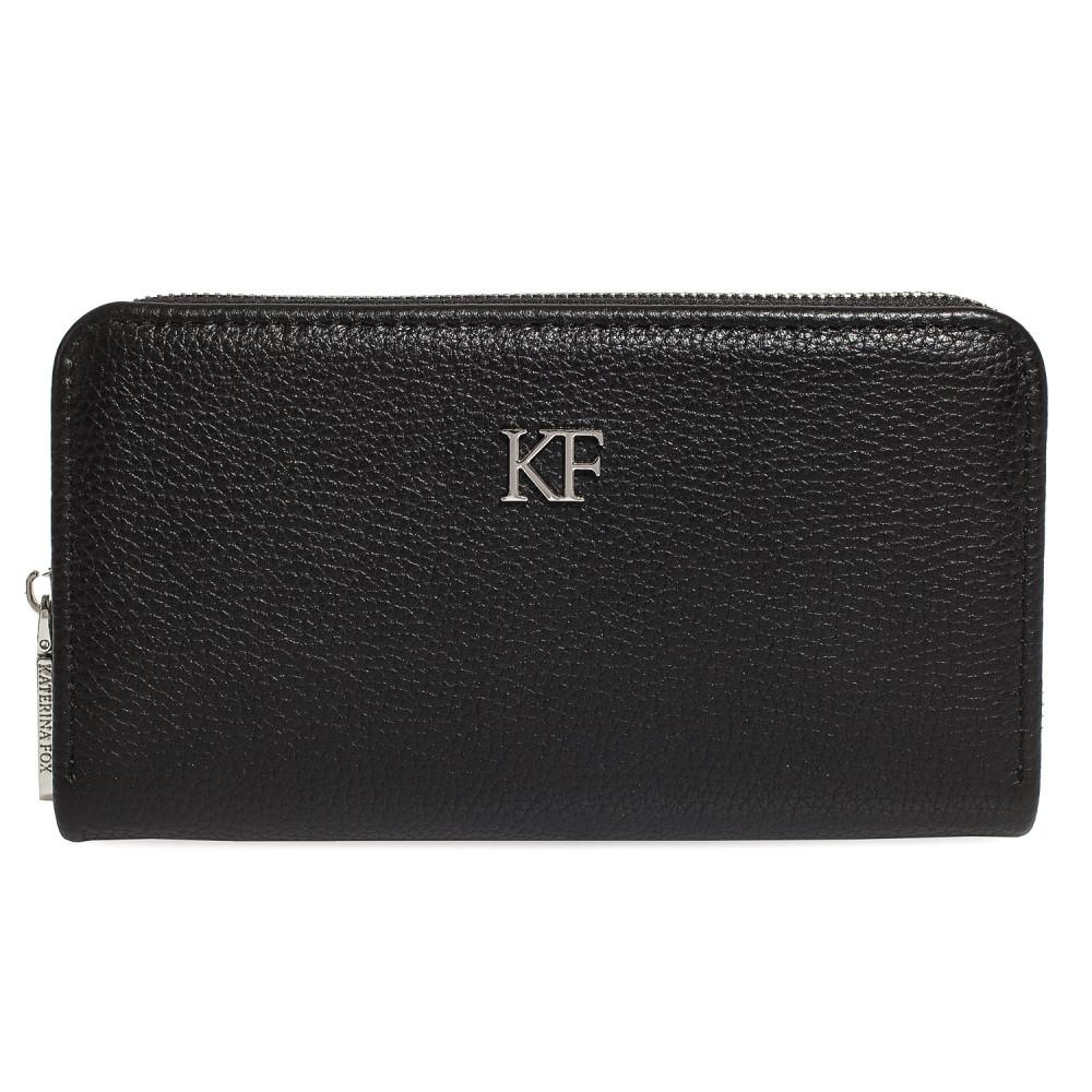 Women's leather wallet Classic KF-359