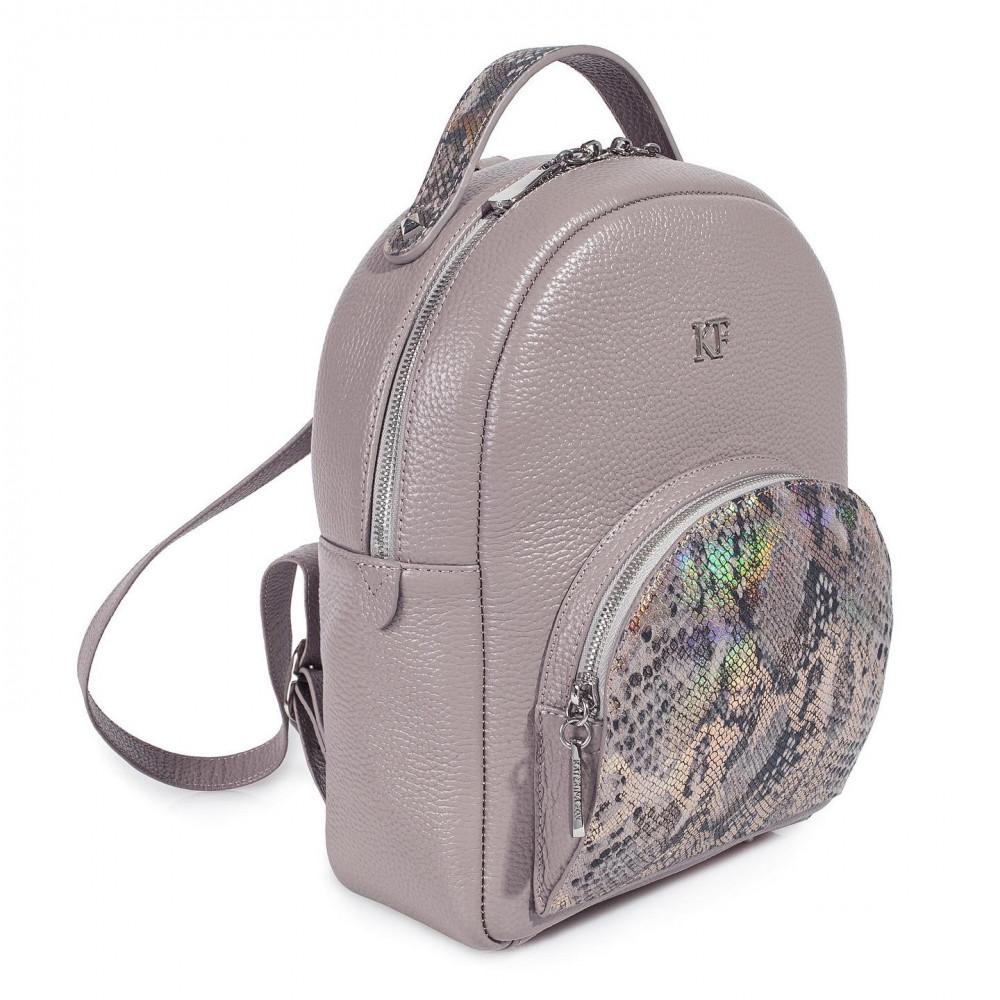 Жіночий шкіряний рюкзак Alina KF-3592-2