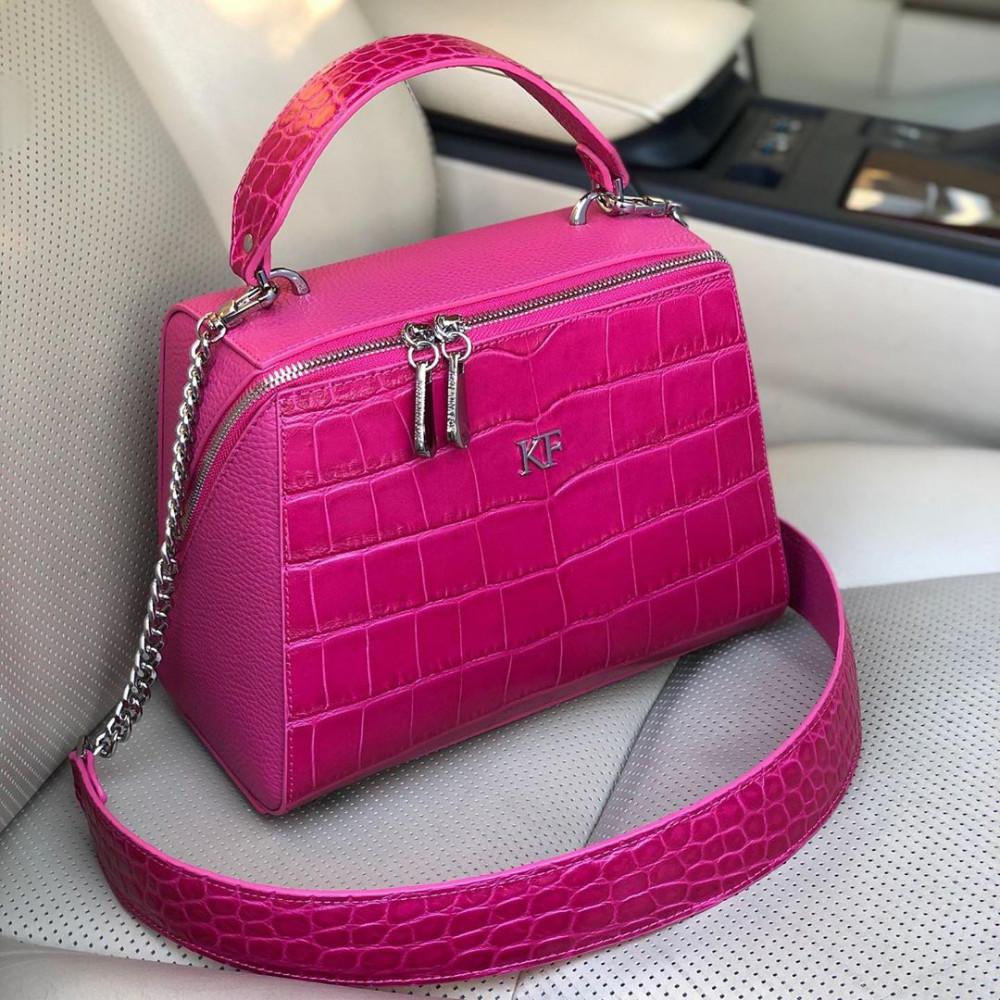 Жіноча шкіряна сумка Elegance KF-3601