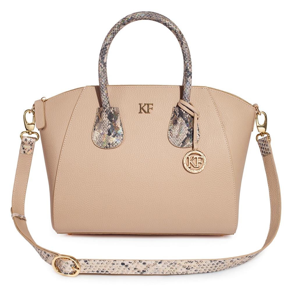 Жіноча шкіряна сумка Valeriya KF-3615