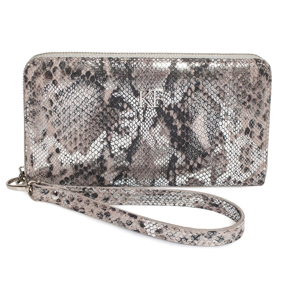 Women's leather wallet Classic KF-3624