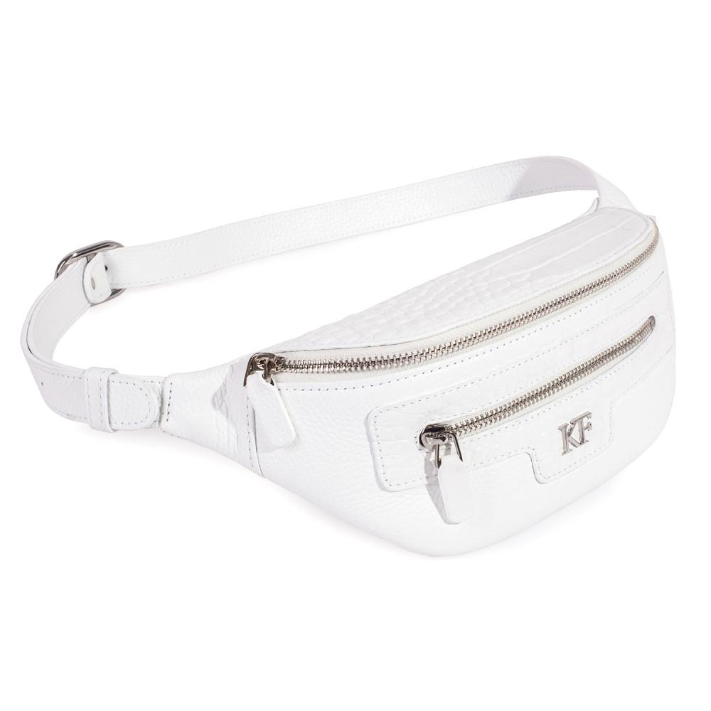Women's leather belt Bananka bag KF-3630