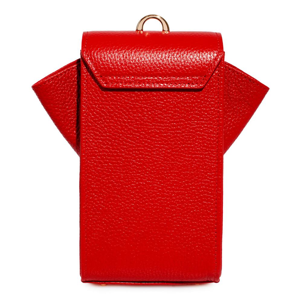 Жіноча шкіряна вертикальна сумка кросс-боді April KF-3638-4