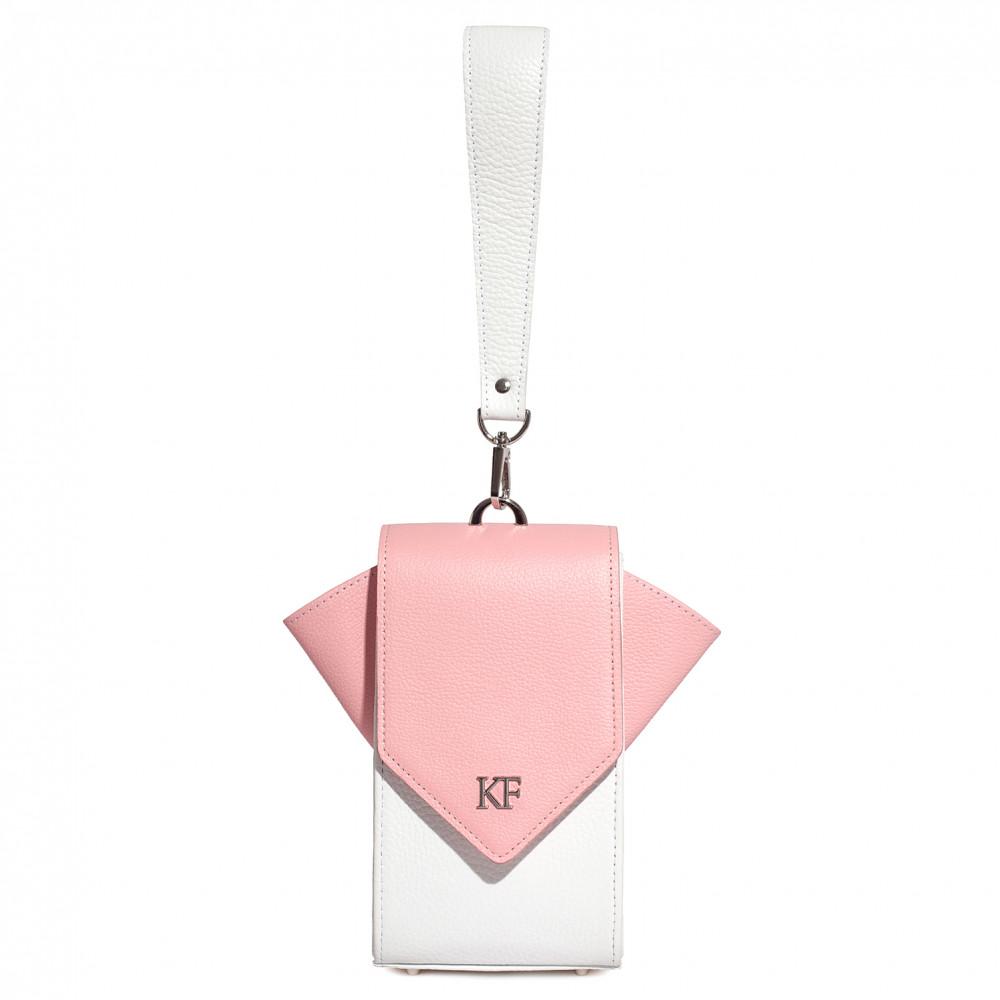 Жіноча шкіряна вертикальна сумка кросс-боді April KF-3639-3