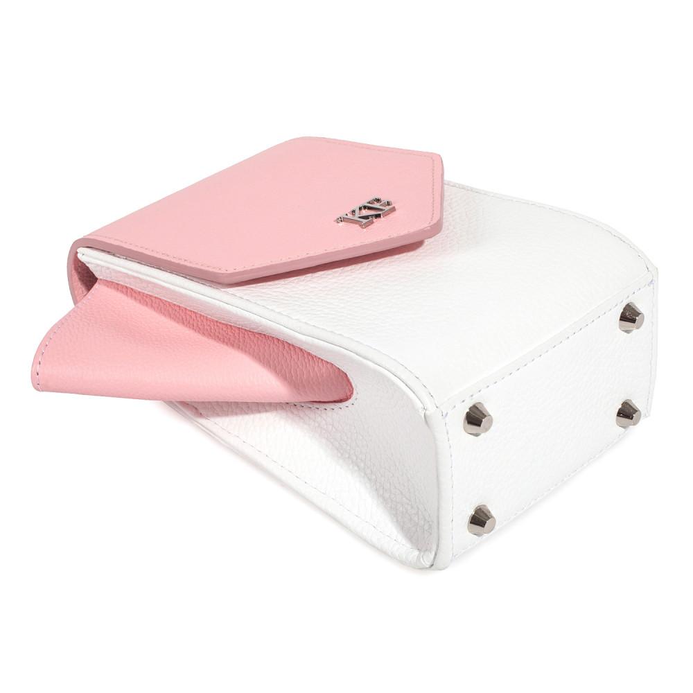 Жіноча шкіряна вертикальна сумка кросс-боді April KF-3639-6