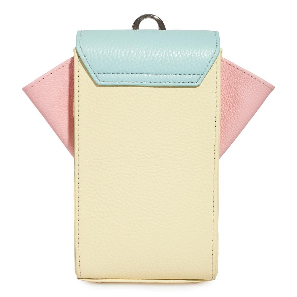 Жіноча шкіряна вертикальна сумка кросс-боді April KF-3641-4