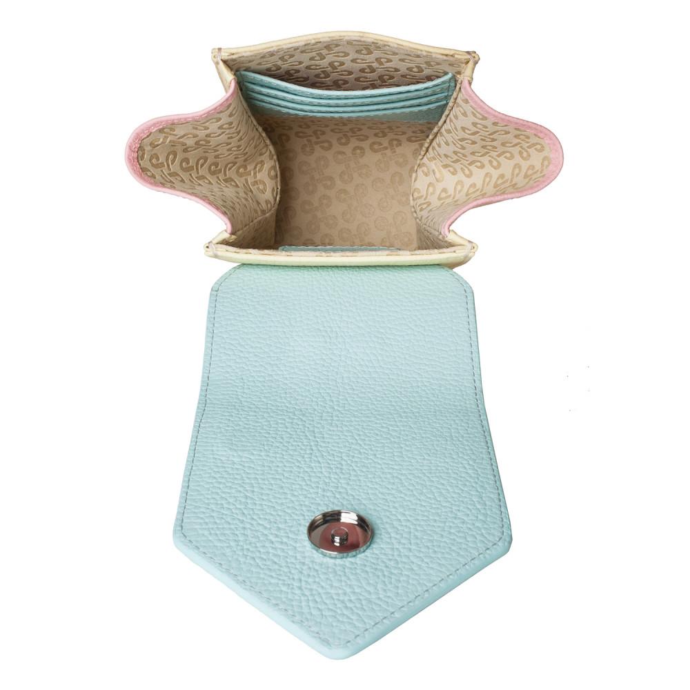 Жіноча шкіряна вертикальна сумка кросс-боді April KF-3641-5