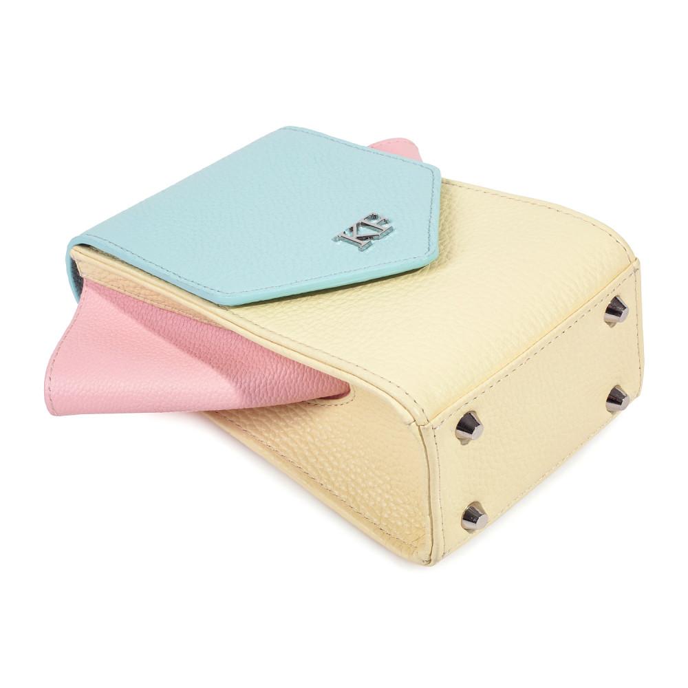 Жіноча шкіряна вертикальна сумка кросс-боді April KF-3641-6