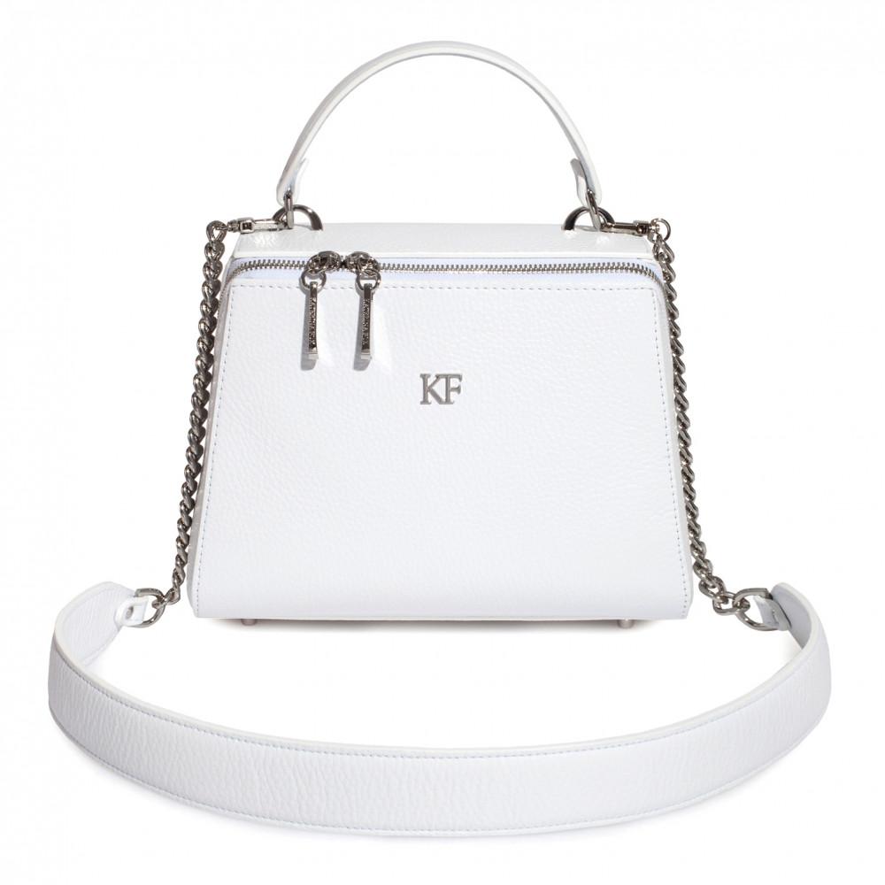 Жіноча шкіряна сумка Elegance KF-3652