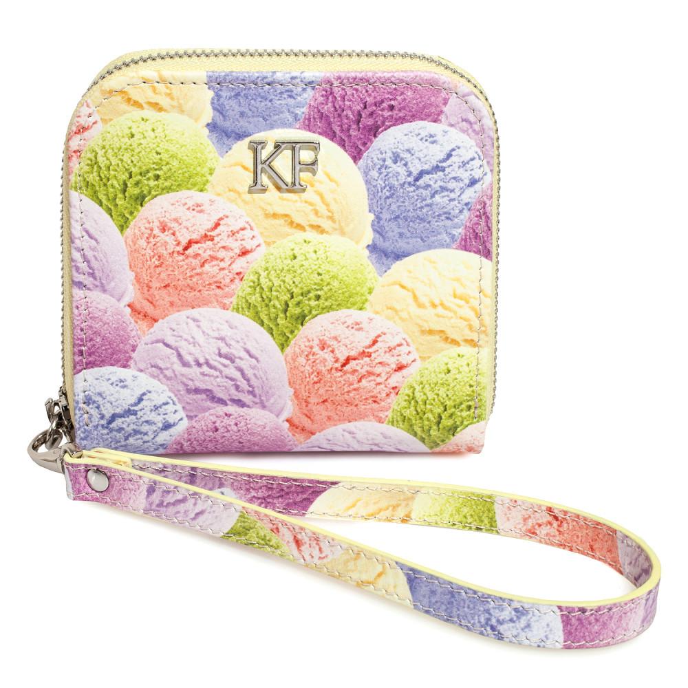 Жіночий шкіряний гаманець Classic S KF-3659