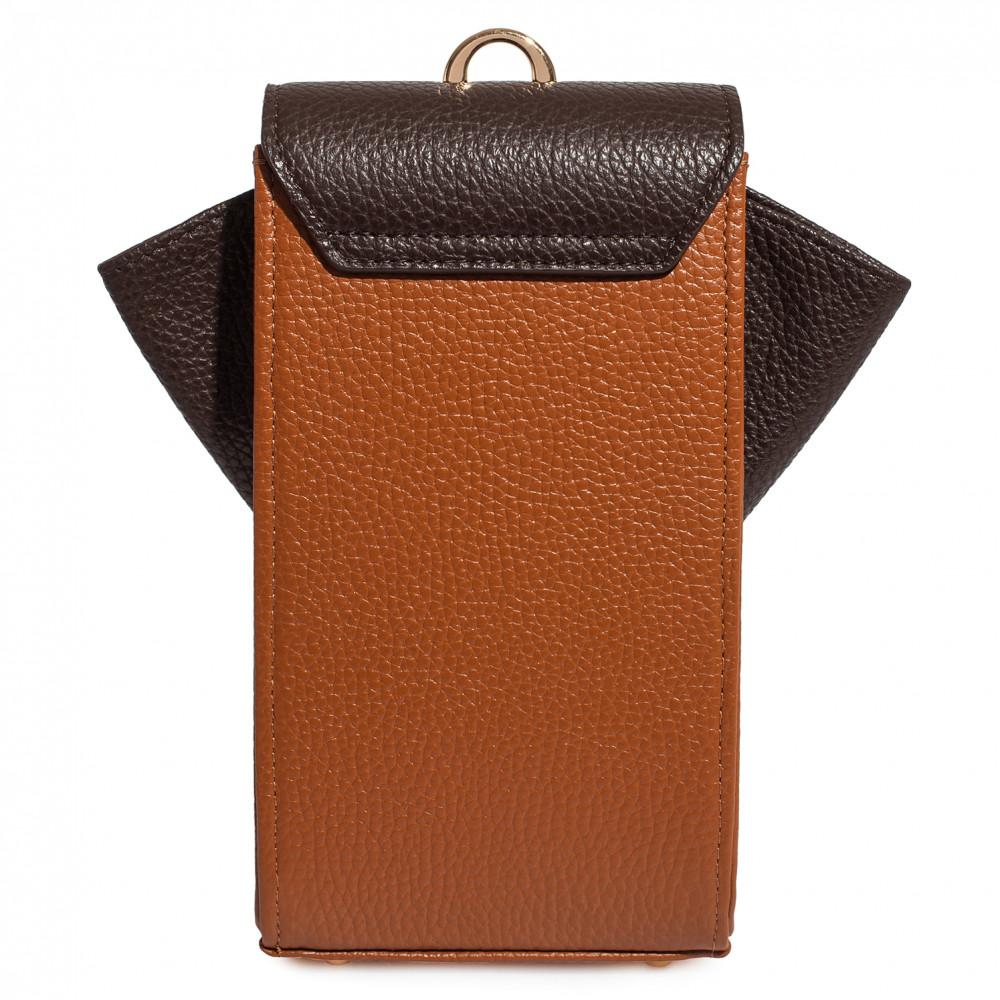 Жіноча шкіряна вертикальна сумка кросс-боді April KF-3666-3