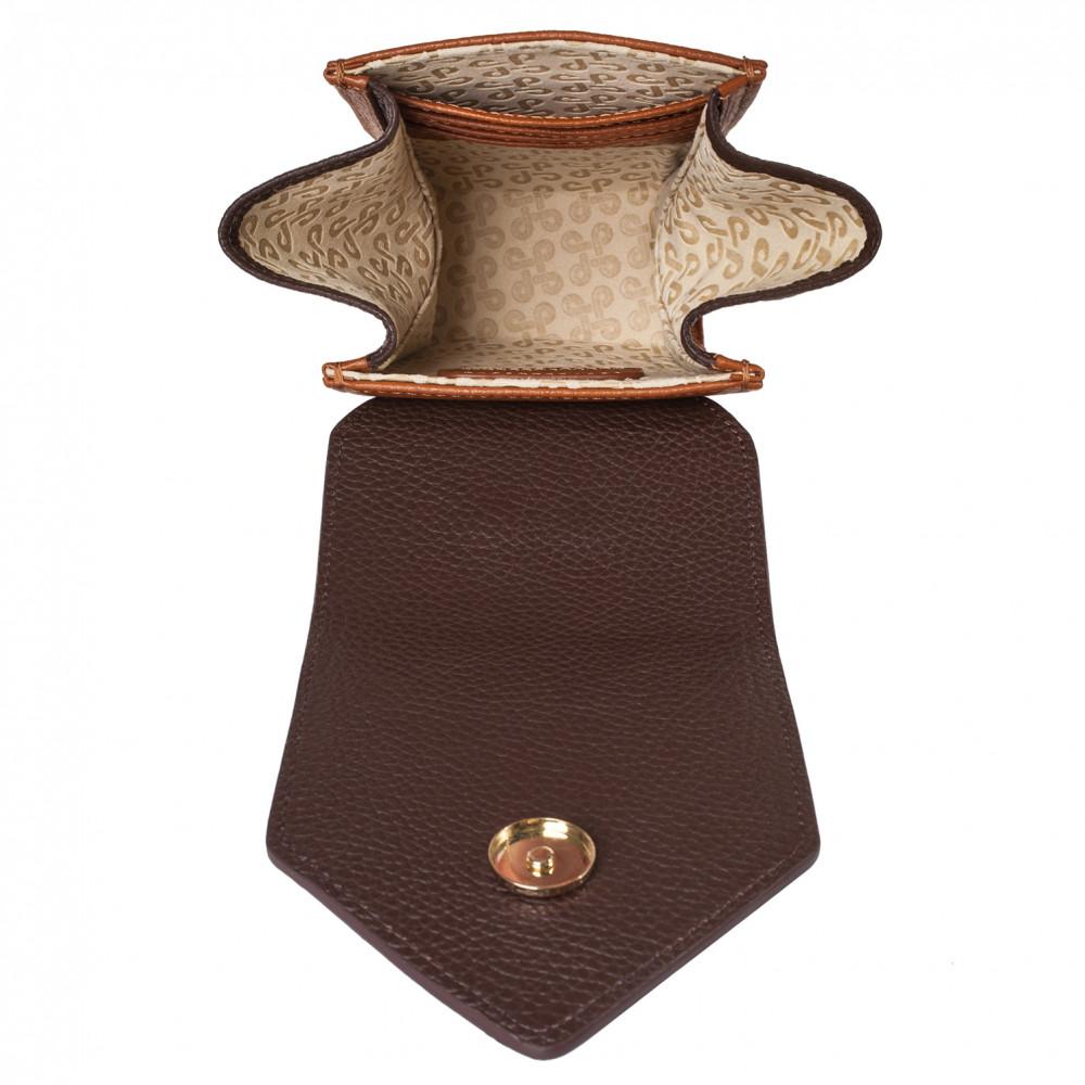 Жіноча шкіряна вертикальна сумка кросс-боді April KF-3666-4