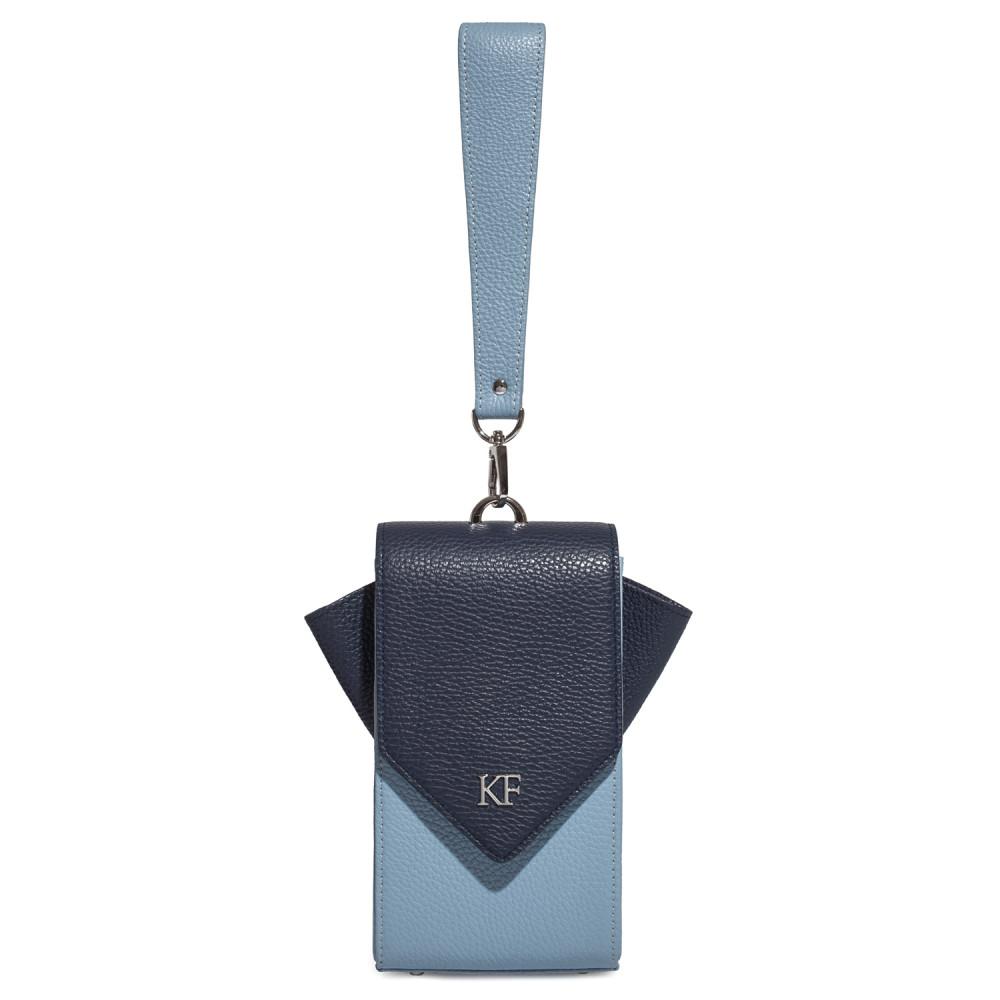 Жіноча шкіряна вертикальна сумка кросс-боді April KF-3667-3