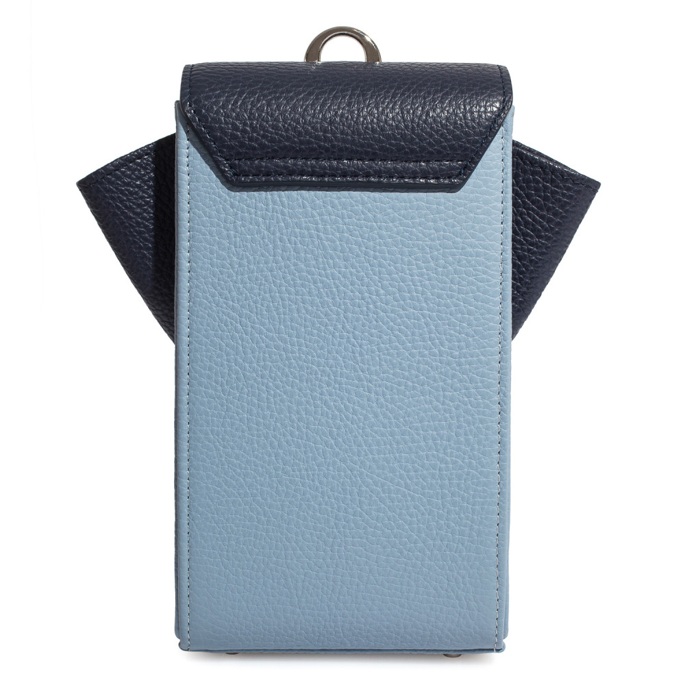 Жіноча шкіряна вертикальна сумка кросс-боді April KF-3667-4