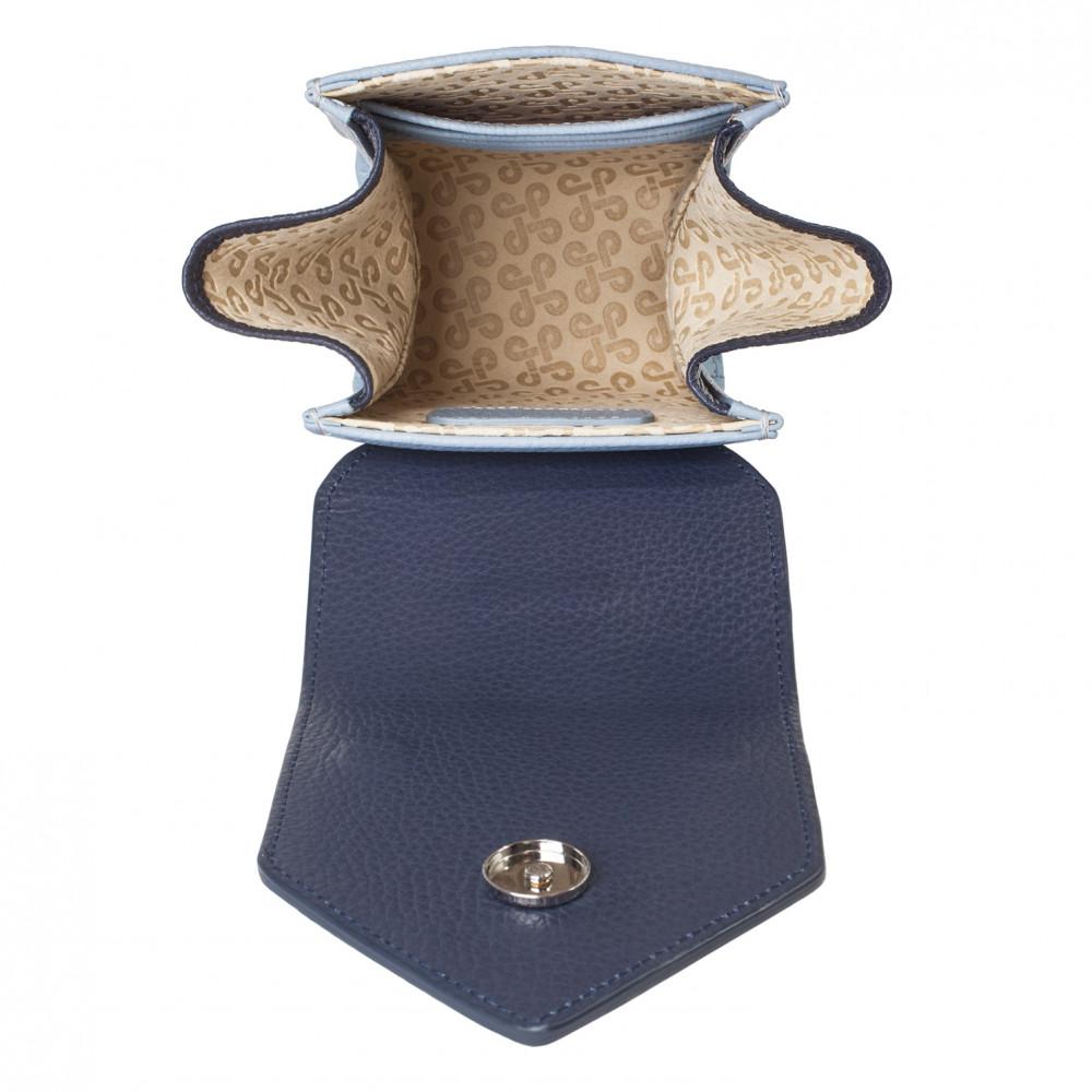 Жіноча шкіряна вертикальна сумка кросс-боді April KF-3667-5