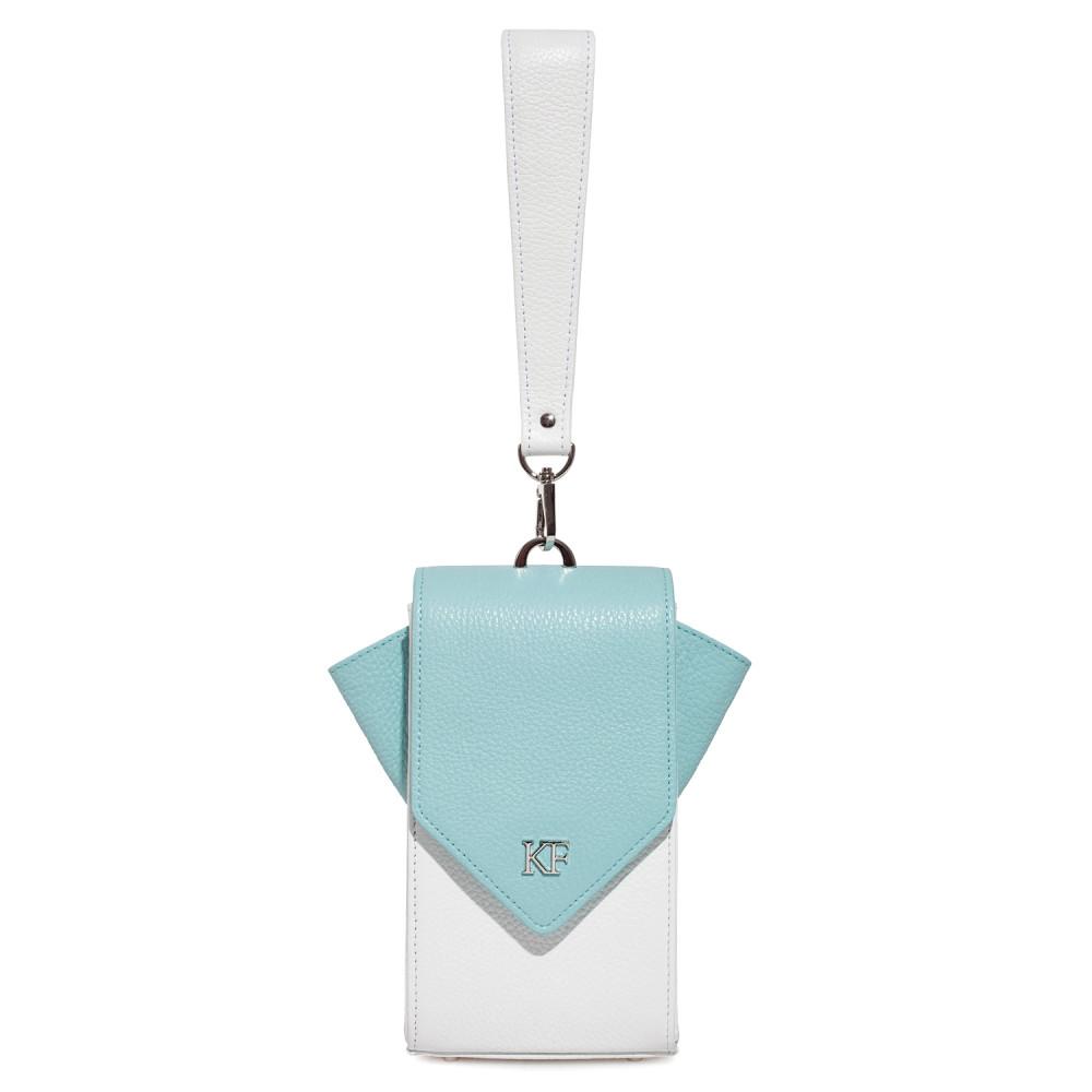 Жіноча шкіряна вертикальна сумка кросс-боді April KF-3668-3