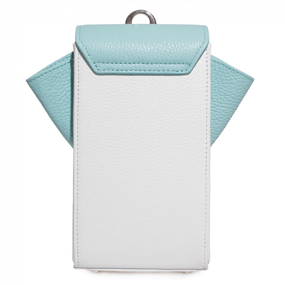 Жіноча шкіряна вертикальна сумка кросс-боді April KF-3668-4