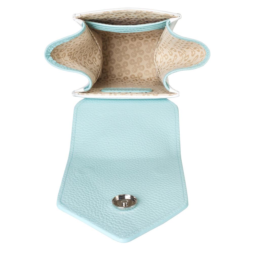 Жіноча шкіряна вертикальна сумка кросс-боді April KF-3668-5