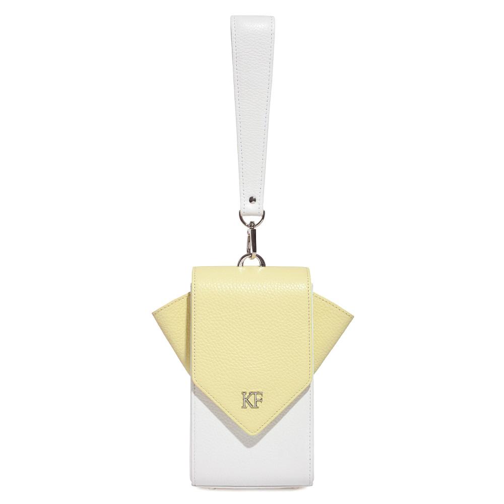 Жіноча шкіряна вертикальна сумка кросс-боді April KF-3670-3