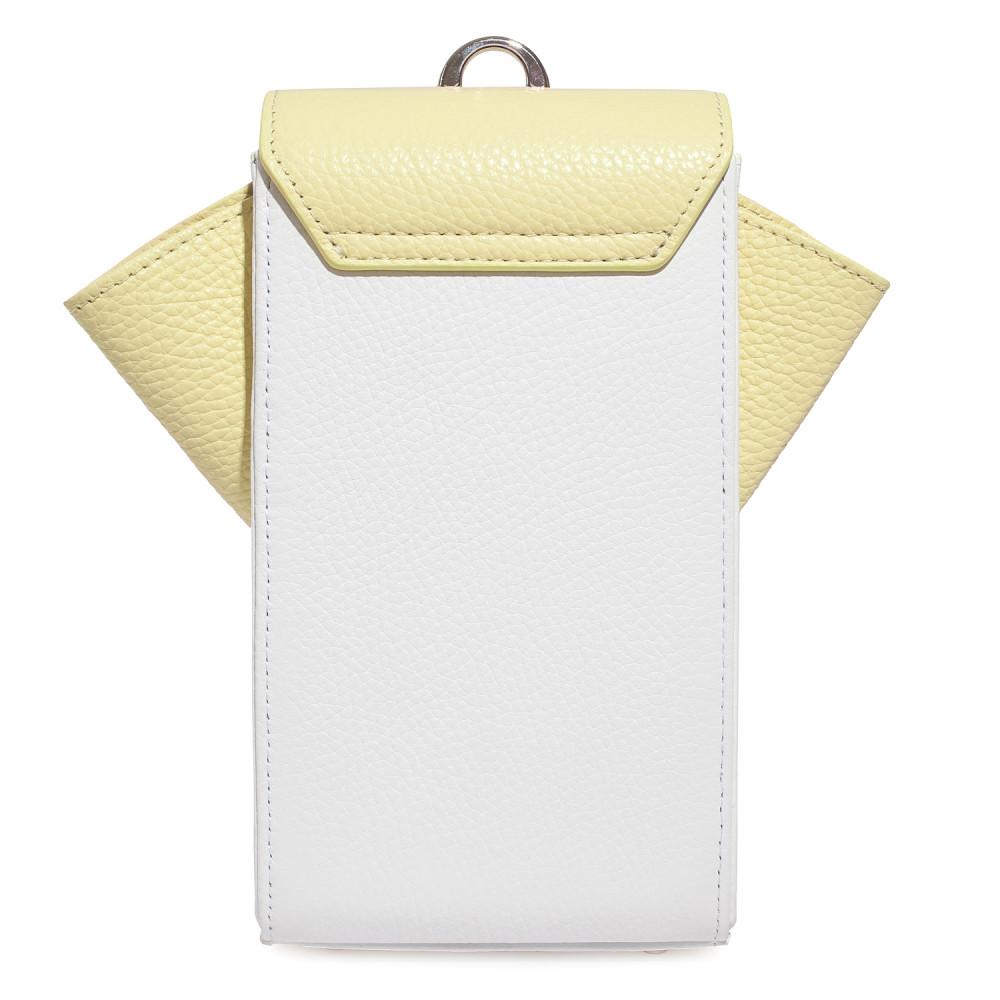 Жіноча шкіряна вертикальна сумка кросс-боді April KF-3670-4