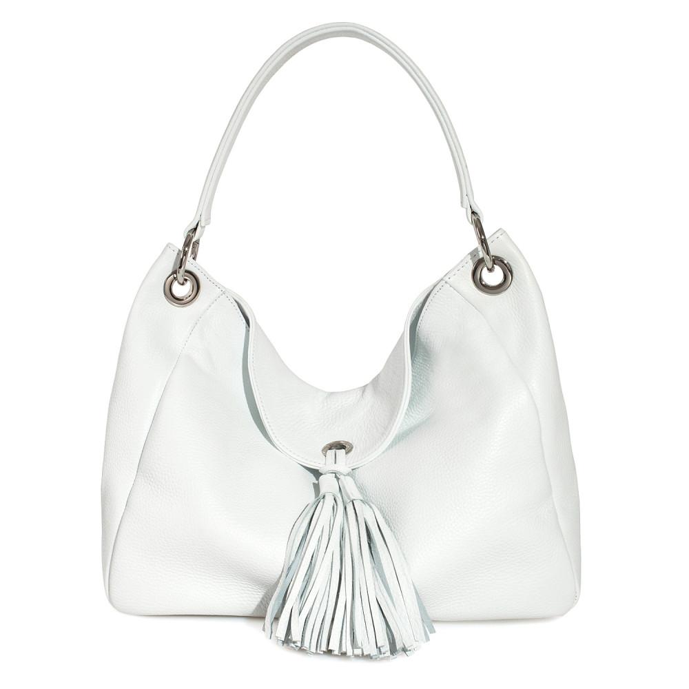 Жіноча шкіряна сумка-мішок Хобо Lora KF-3681