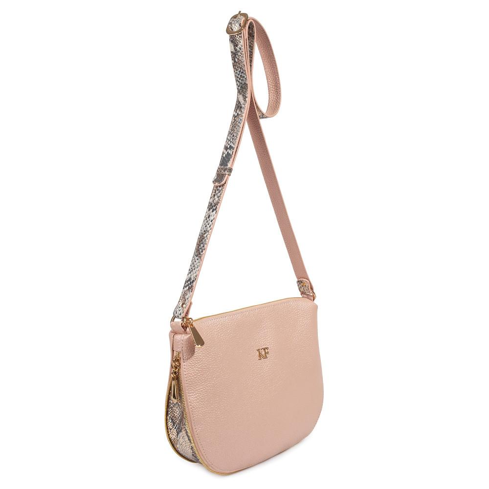 Жіноча шкіряна сумка кросс-боді Mia KF-3696