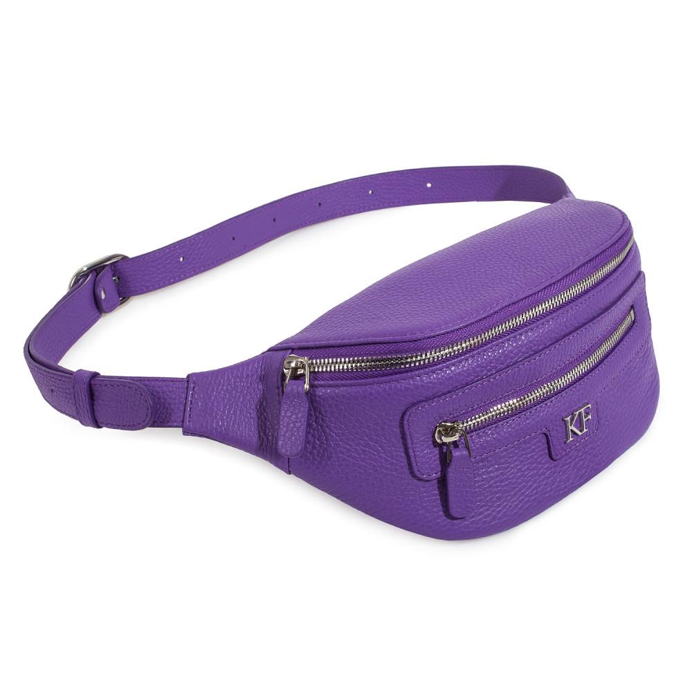 Жіноча шкіряна сумка на пояс Bananka KF-3699