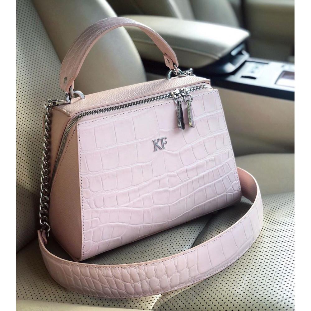 Жіноча шкіряна сумка Elegance KF-3710