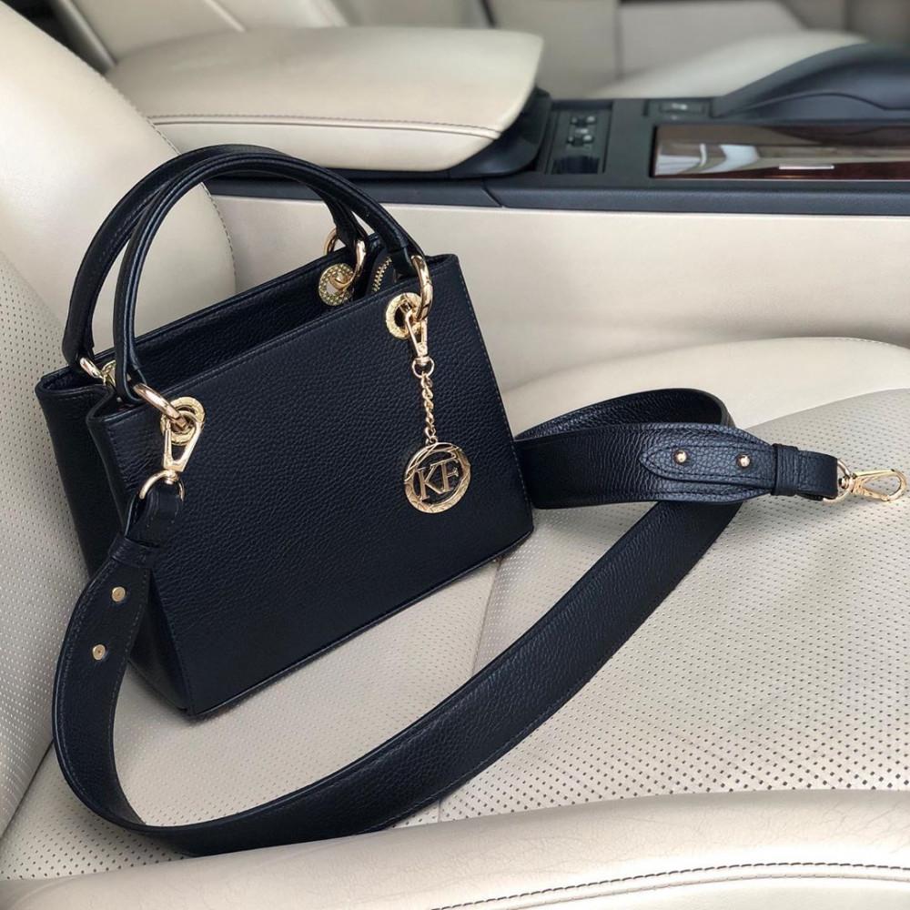 Жіноча шкіряна сумка Vera S KF-3742
