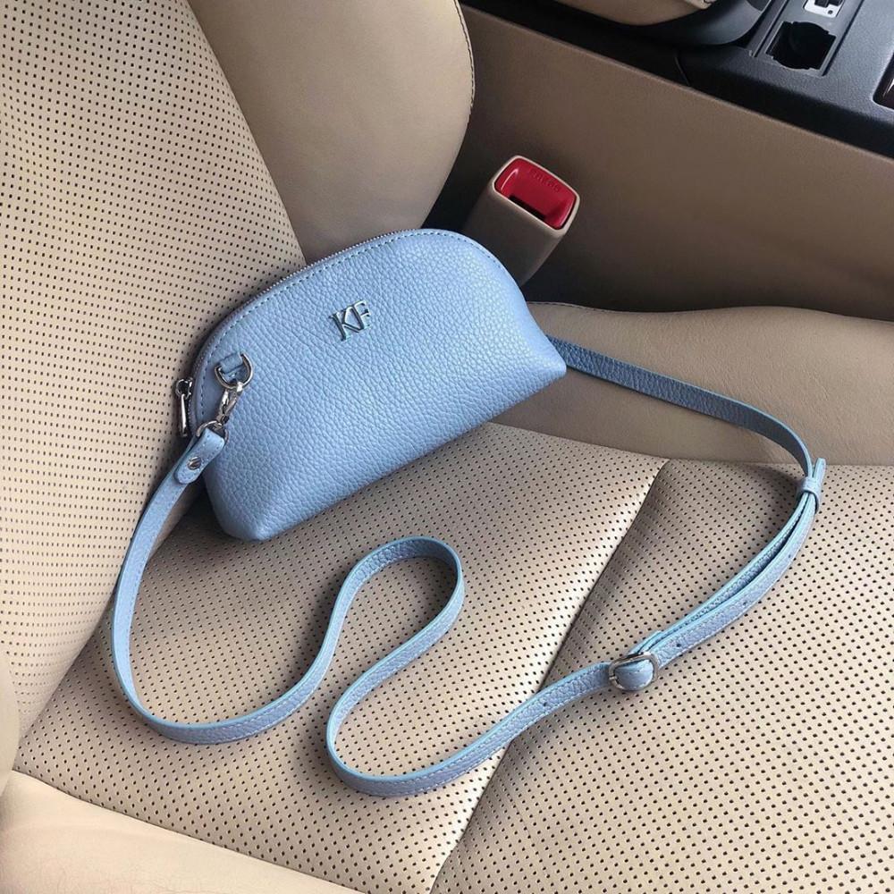 Women's leather mini bag Ksusha KF-3745