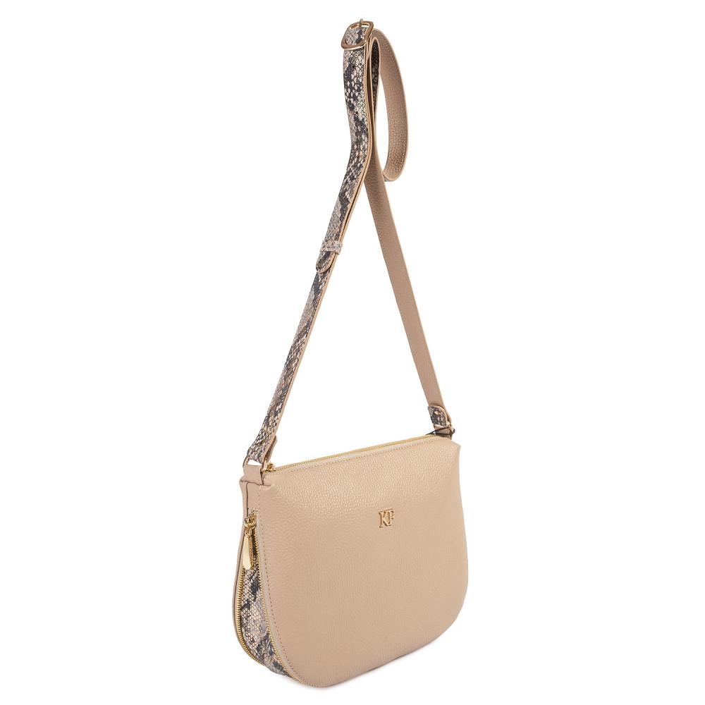 Жіноча шкіряна сумка кросс-боді Mia KF-3746