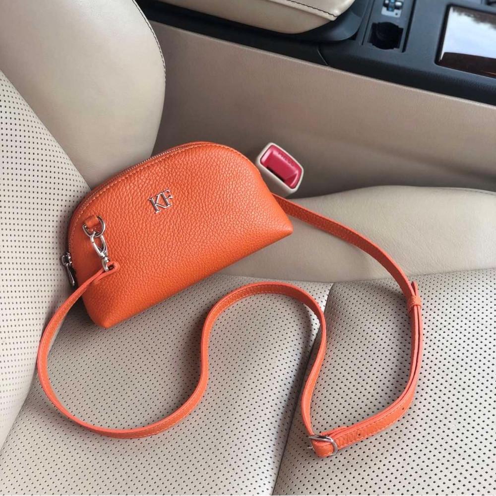 Women's leather mini bag Ksusha KF-3748