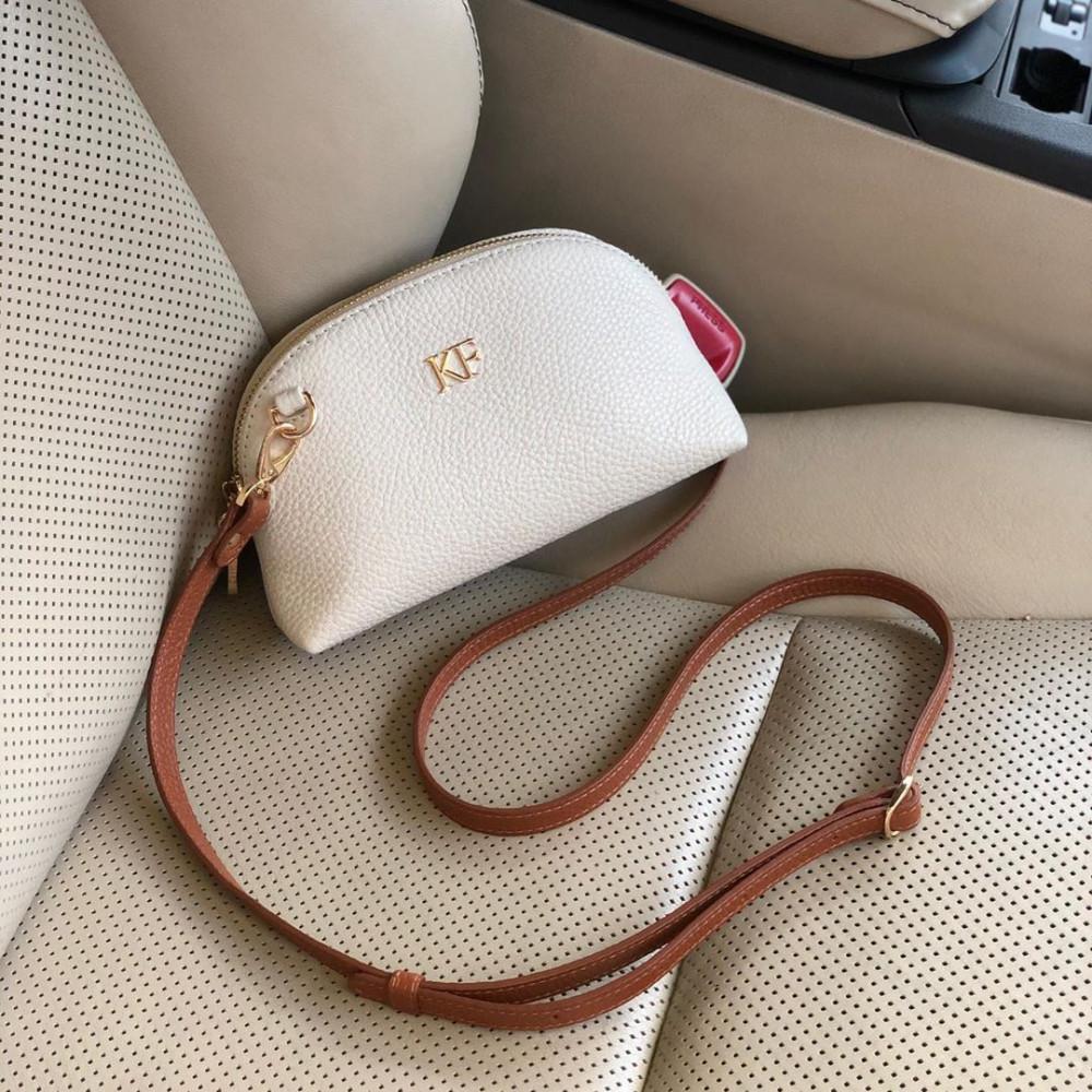 Women's leather mini bag Ksusha KF-3751