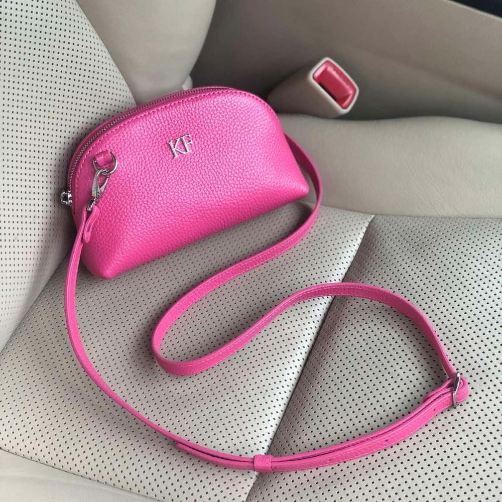 Жіноча шкіряна міні-сумочка Ksusha KF-3755-