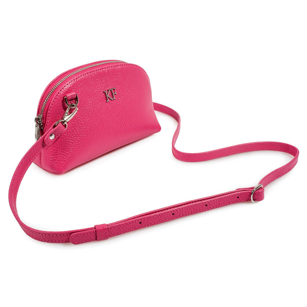 Жіноча шкіряна міні-сумочка Ksusha KF-3755-1
